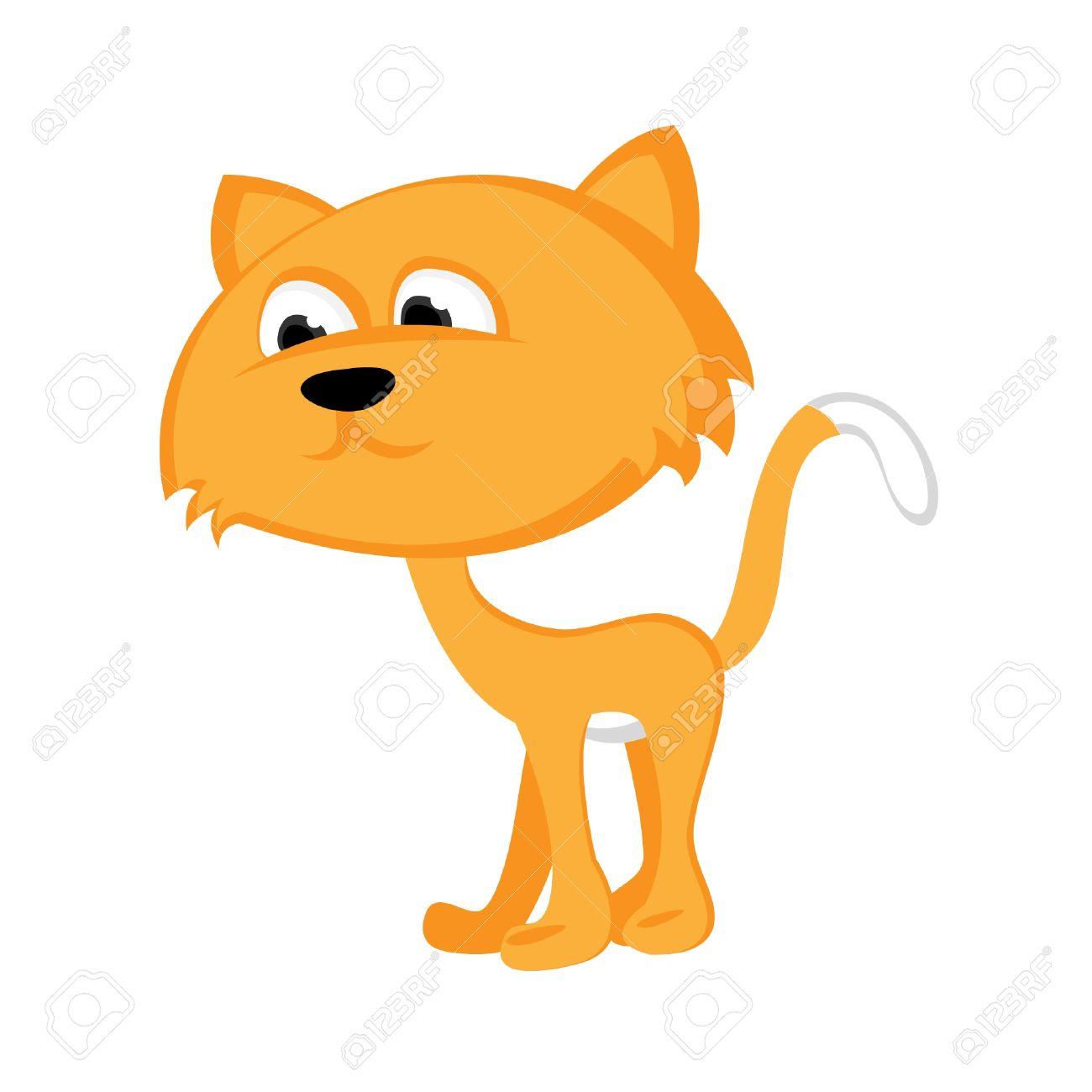 purring cat Gato Flaco