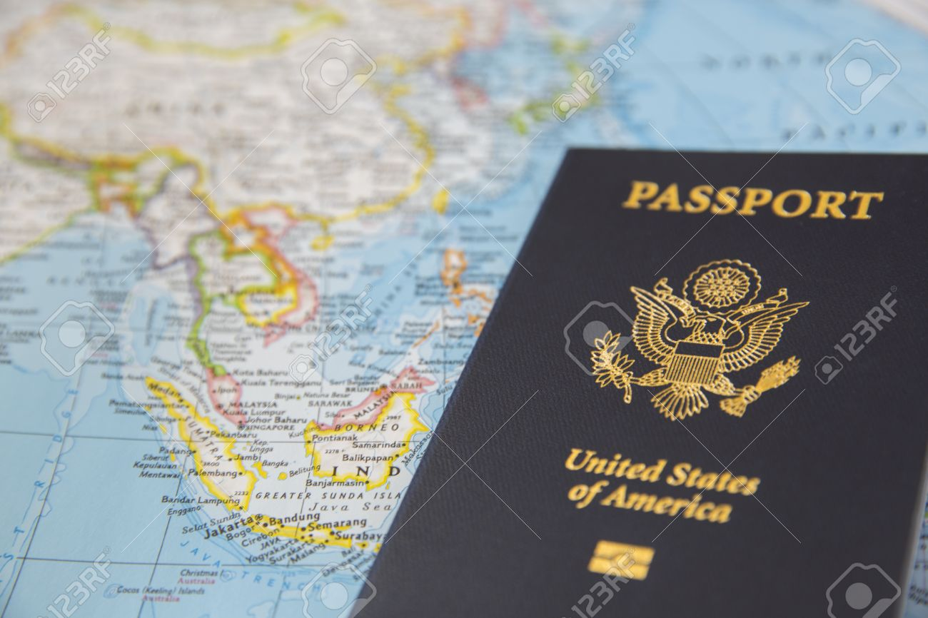 Us passport on the world map stock photo picture and royalty free stock photo us passport on the world map gumiabroncs Choice Image