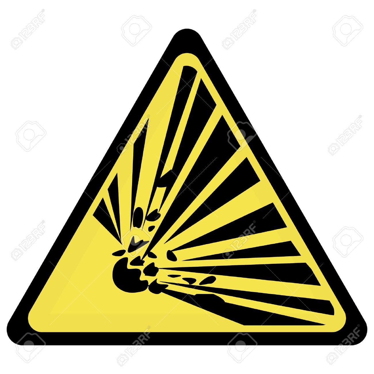 yellow explosion Stock Vector - 3383907