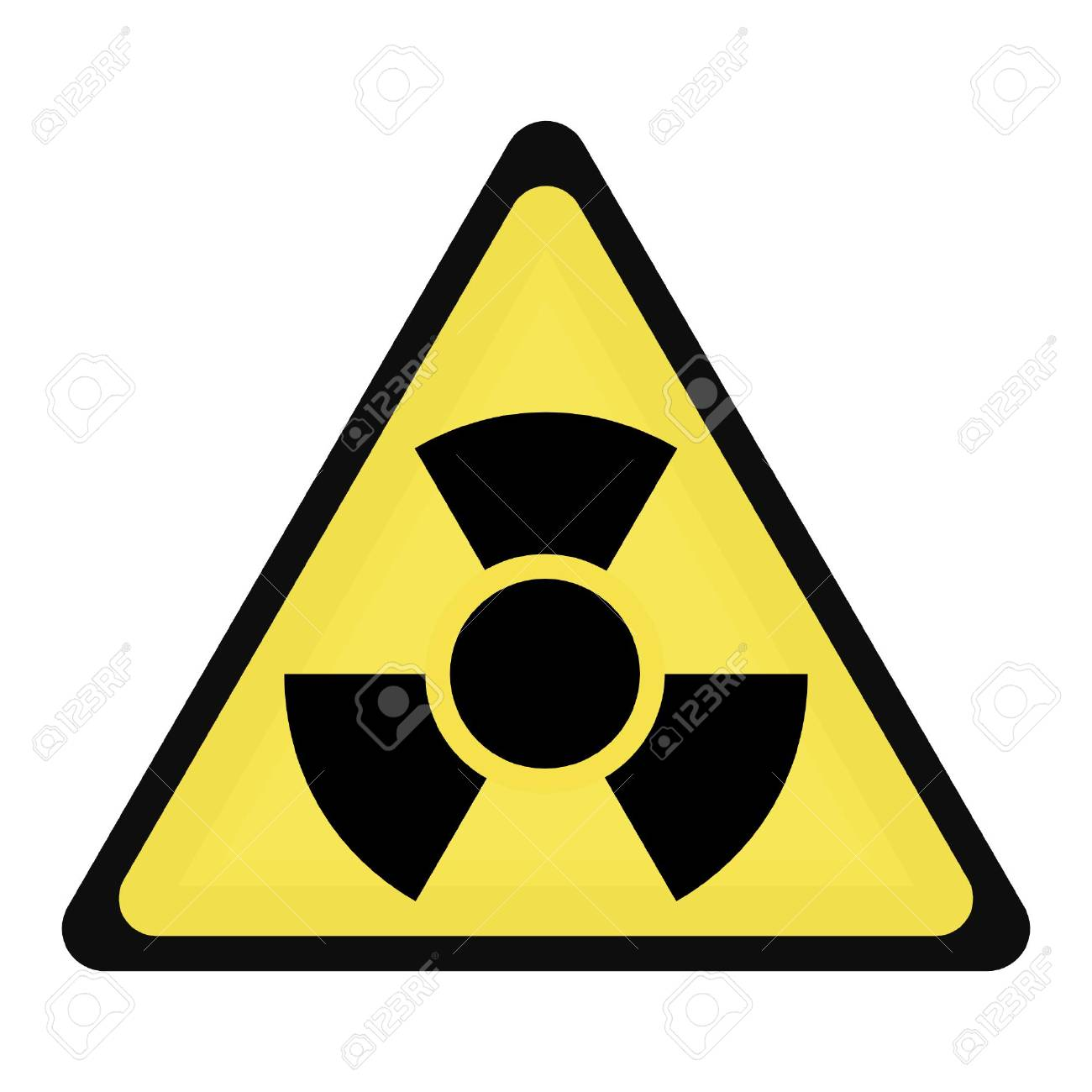 radioactive sign Stock Vector - 3383918