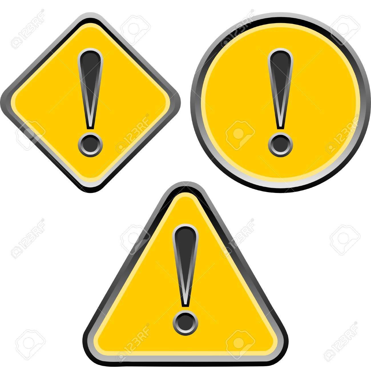 warning Stock Vector - 4514104