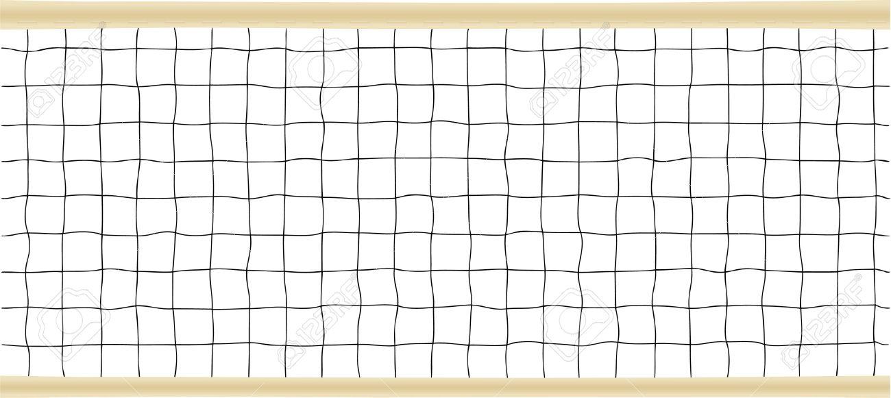 Tennis or Volleyball Net Vector illustration Stock Vector - 6152326