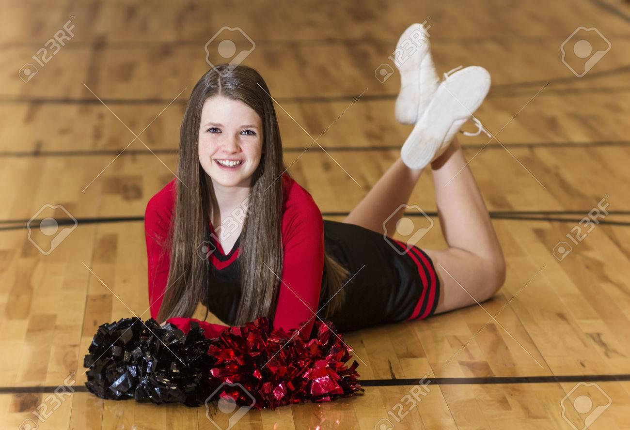 Een cheerleader