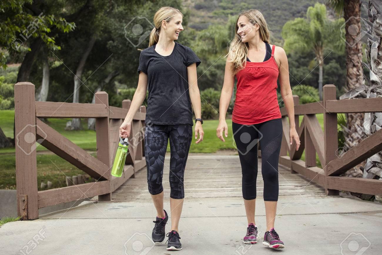Adelgazar corriendo o caminando juntos