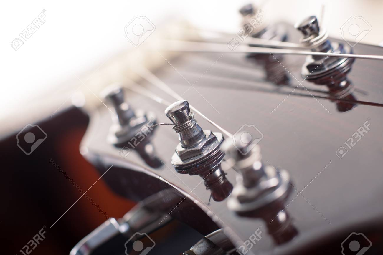 Guitar Machine Heads Closeup Stock Photo Picture And Royalty Free