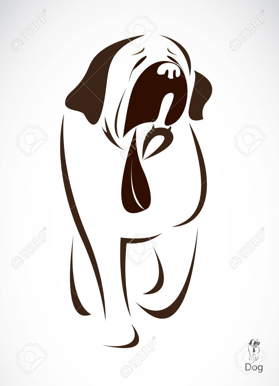 Vector image of an dog , illustration - vector Stock Vector - 19187803