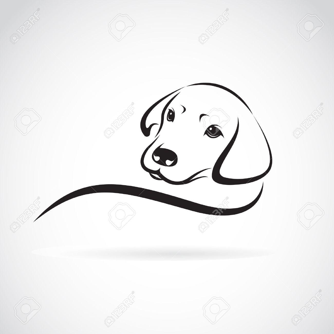3 337 labrador retriever silhouette stock illustrations cliparts
