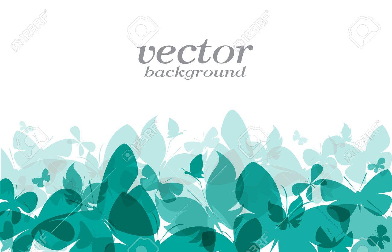 Butterfly Design On White Background Vector Illustration