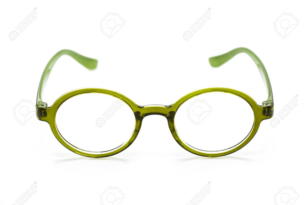 bd92403e317d Image Of Modern Fashionable Spectacles Isolated On White Background ...