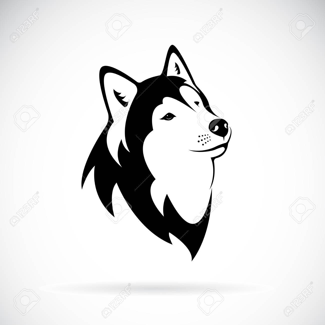 Asombroso Perro Husky Para Colorear Bosquejo - Ideas Para Colorear ...