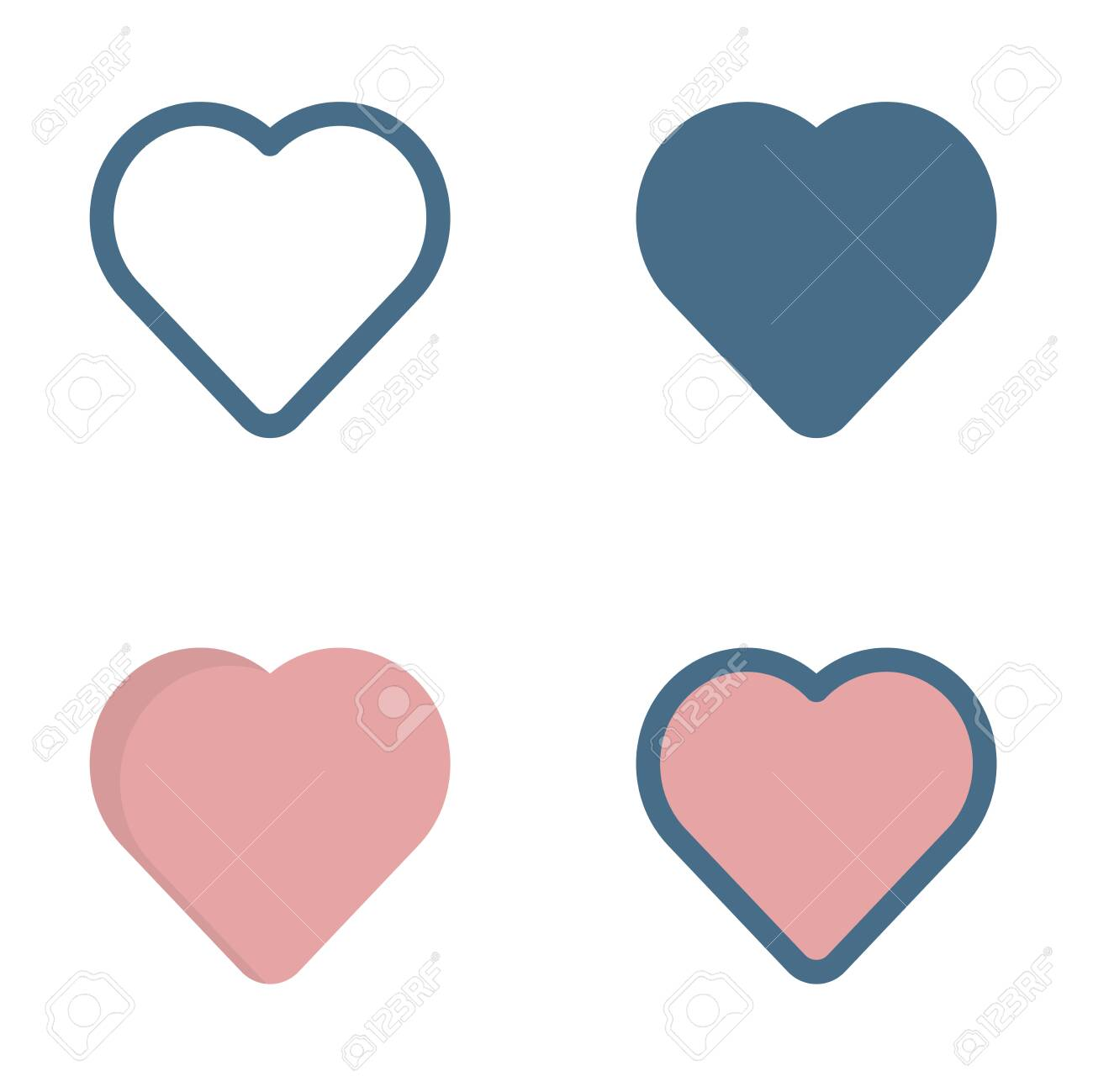 love icon in isolated on white background. for your web site design, logo, app, UI. Vector graphics illustration and editable stroke. EPS 10. - 141788810