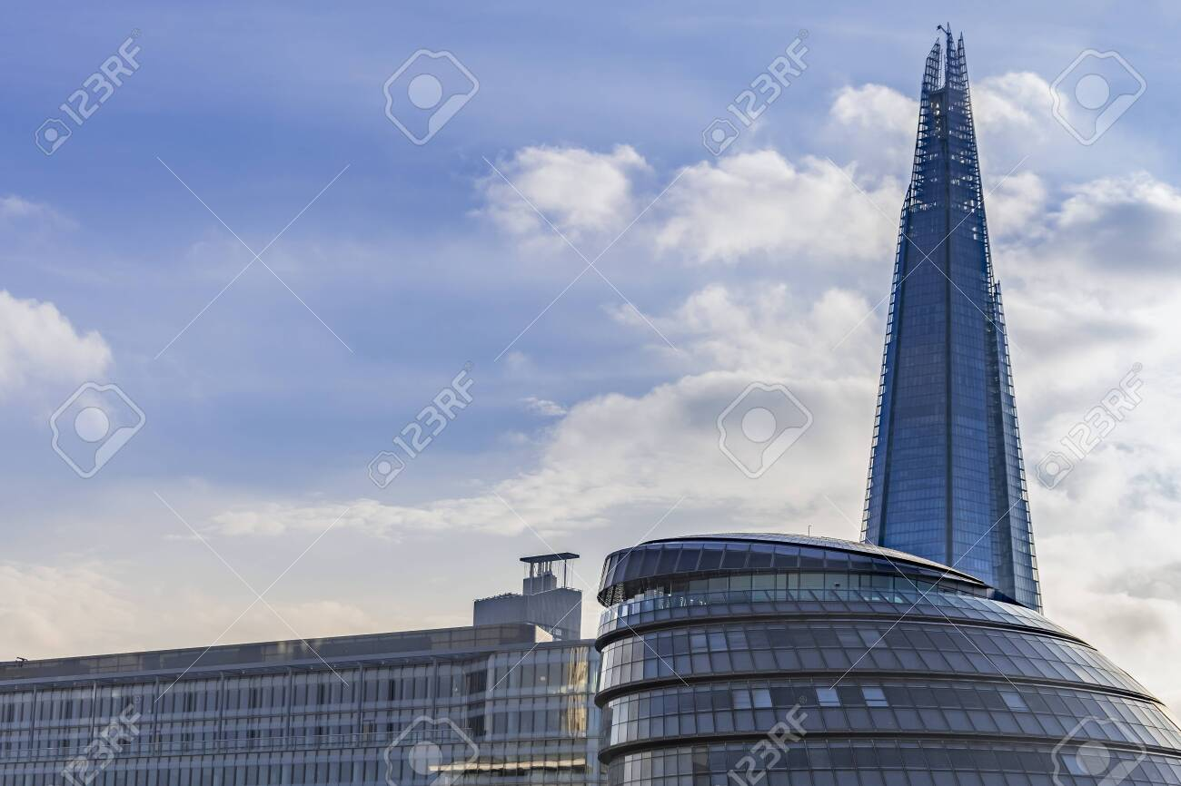 London Feb 2 The Shard Building At London Bridge Now Complete Stock Photo Picture And Royalty Free Image Image 136496725