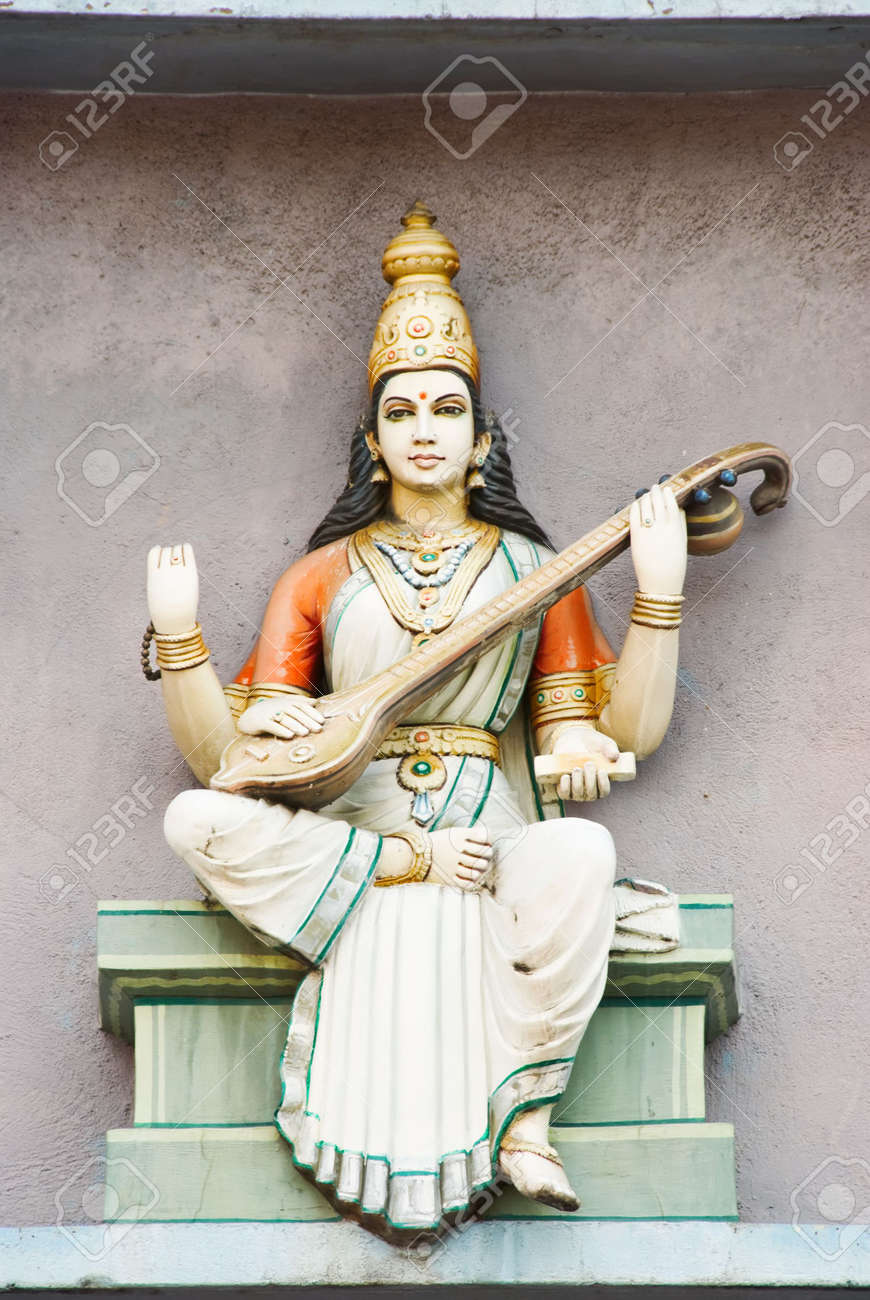 hindu deity statue Stock Photo - 2871851