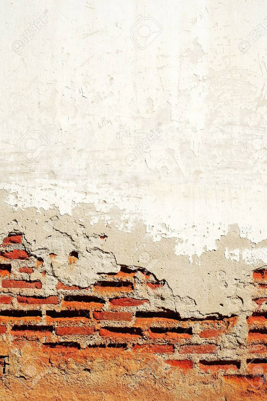 Old cements bricks wall background Stock Photo - 18466683