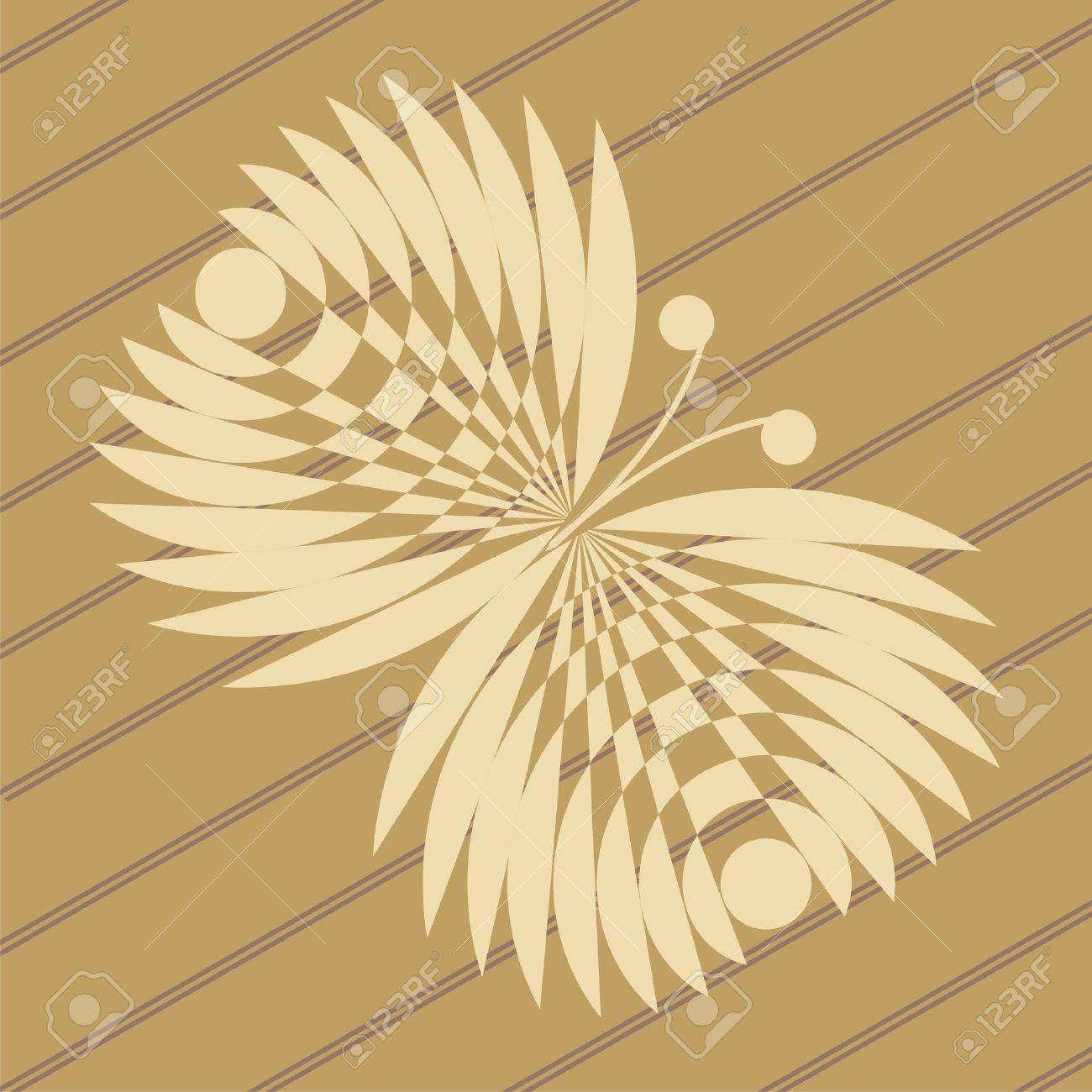 ufo crop circles design in wheat/corn fields Stock Vector - 12431692