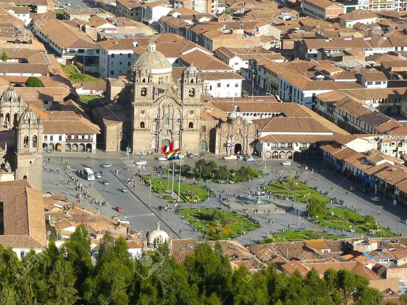 Cuzco Skyline Peru Stock Photos & Cuzco Skyline Peru Stock Images ...