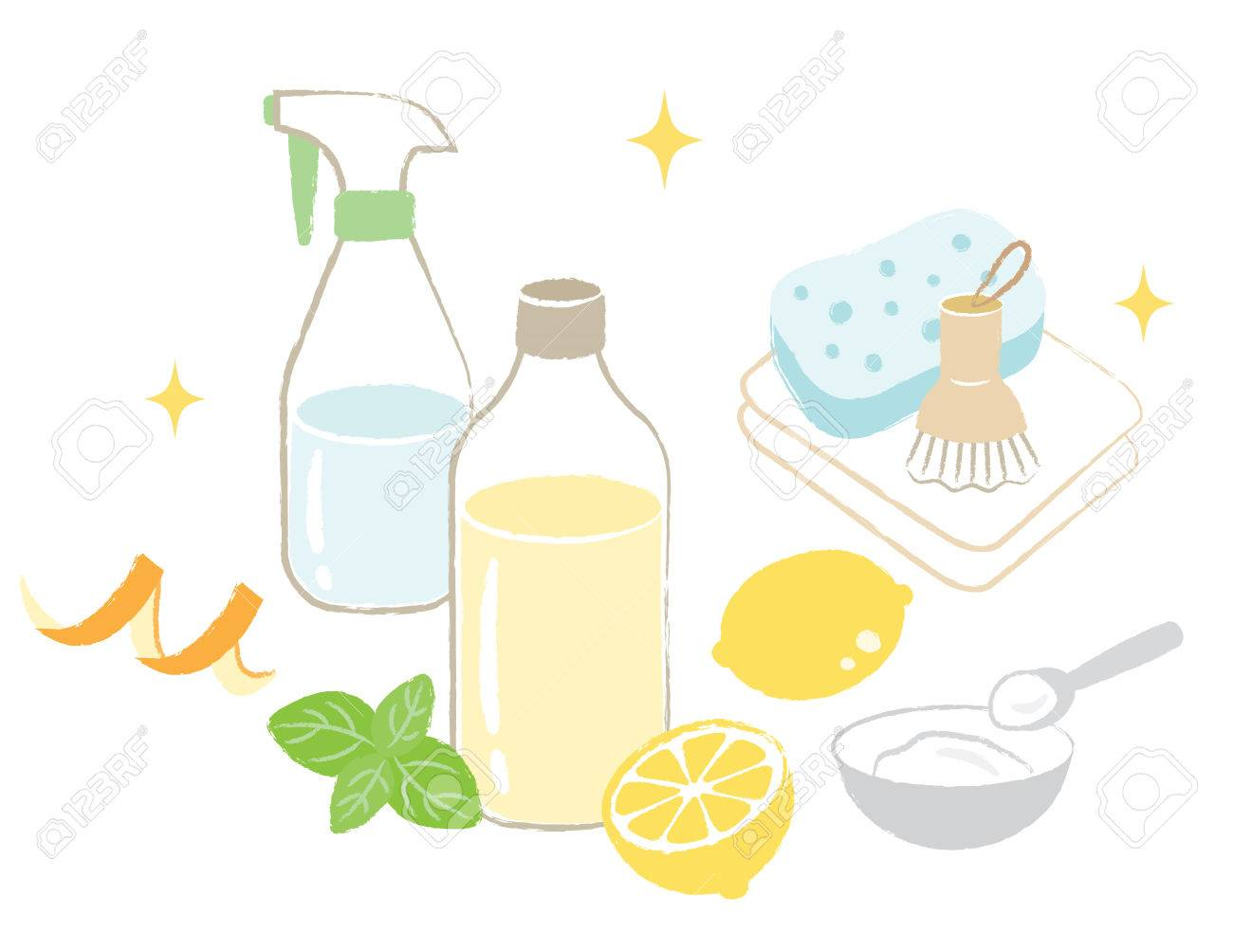 natural cleaning - 64378967