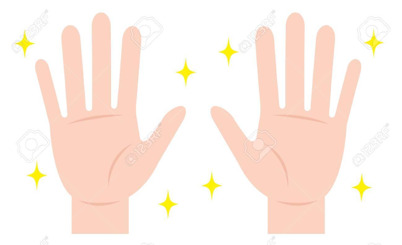 clean hand. hand hygiene - 85864021