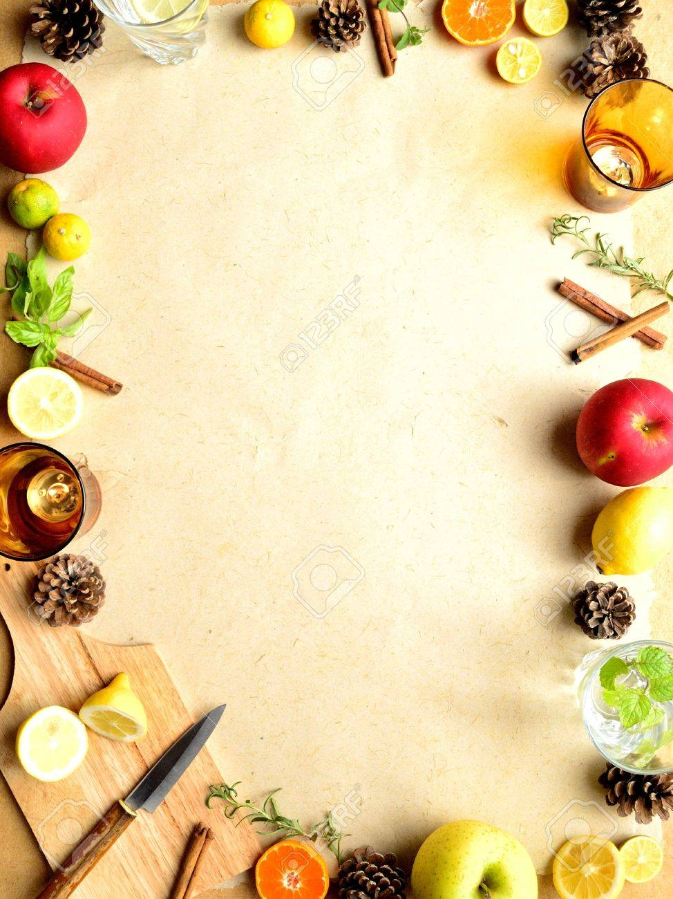 Kitchen Supplies: Fruits,herbs And Kitchen Supplies
