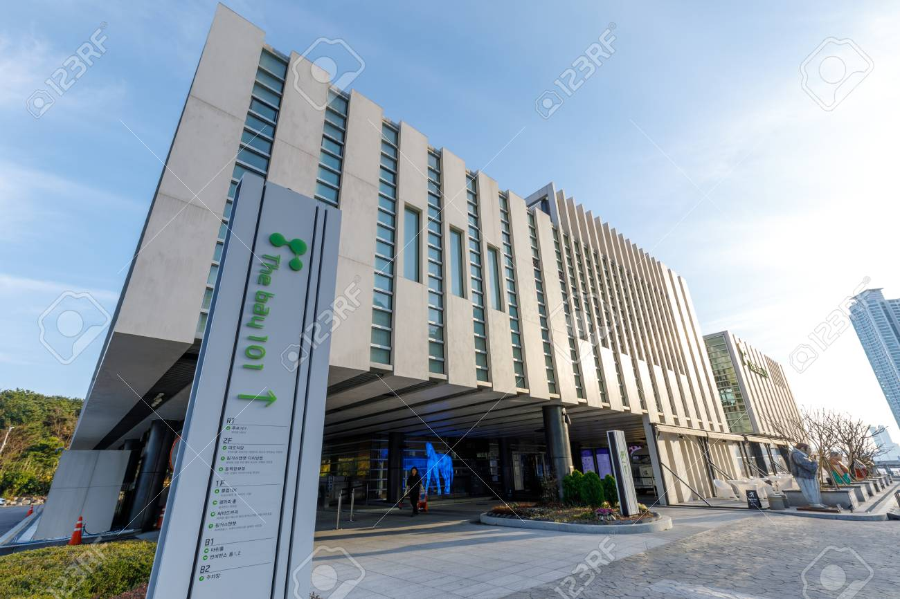 Busan, South Korea - March 14, 2018 : The Bay 101, which is a
