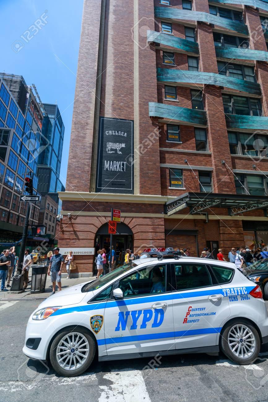 Manhattan, New York City - May 10, 2018 : NYC Landmark Chelsea