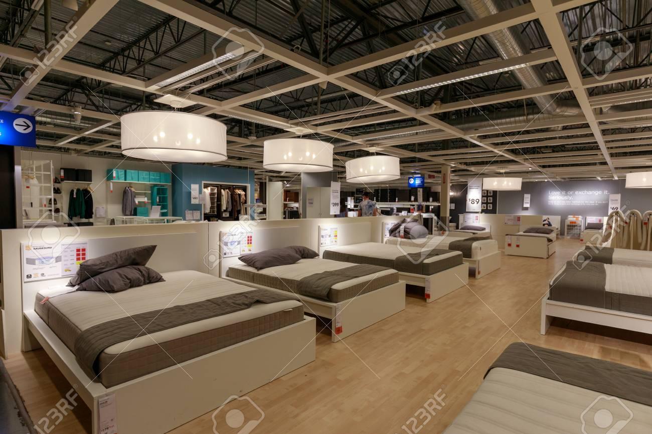 Portland Oregon May 14 2018 Interior Of The Ikea Store