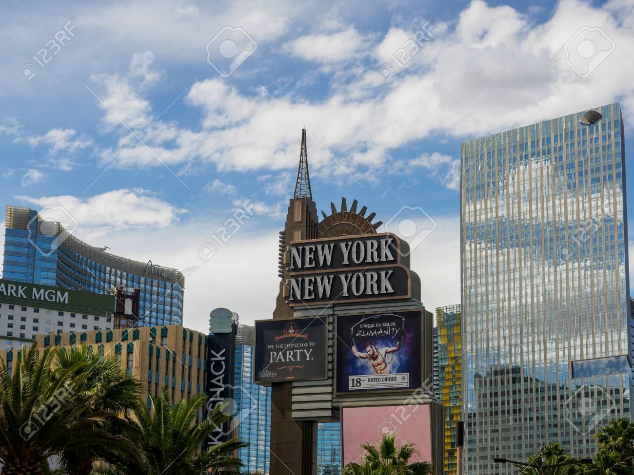 Las Vegas Nevada May 28 2018 New York New York Hotel Casino
