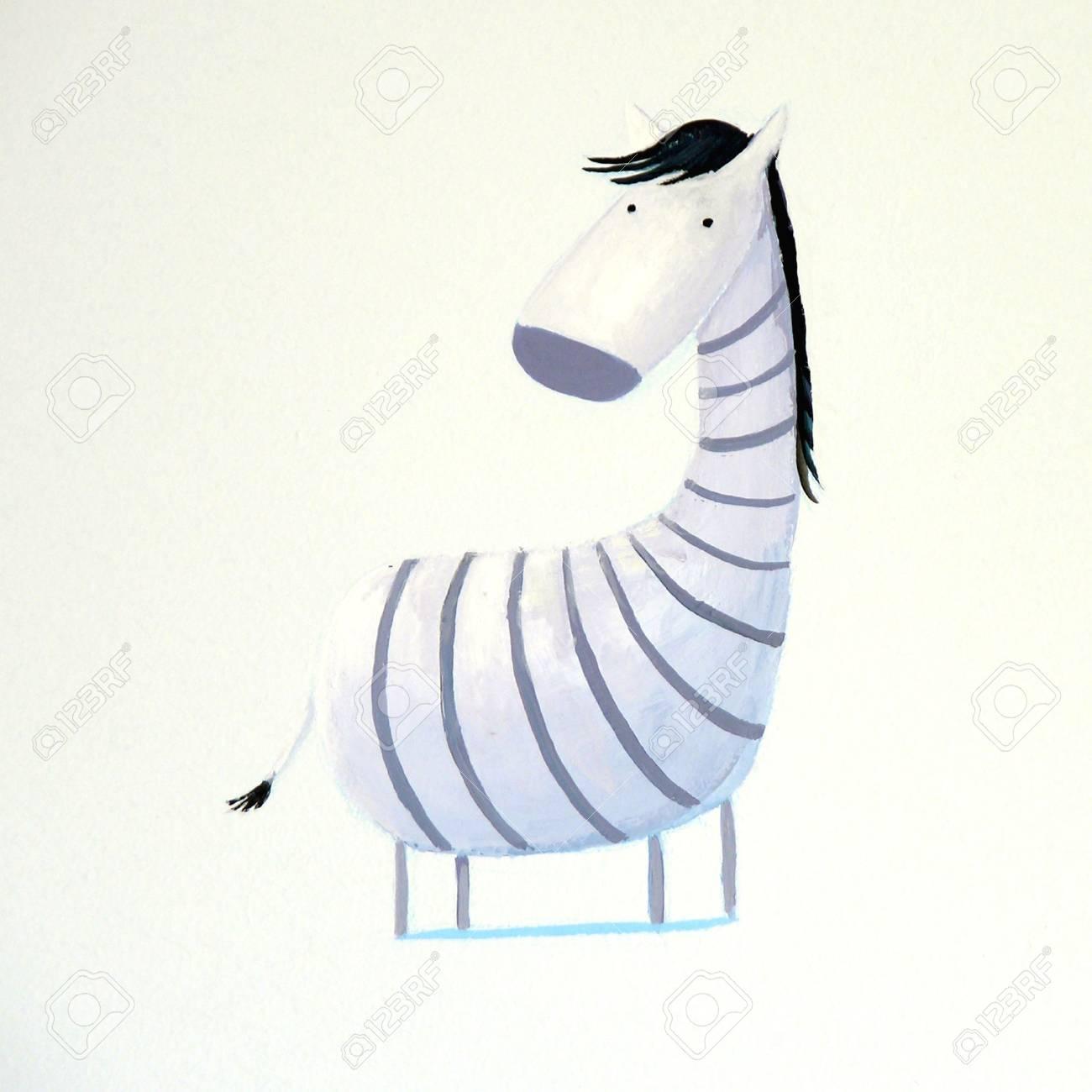 abstract baby zebra Stock Photo - 4815547