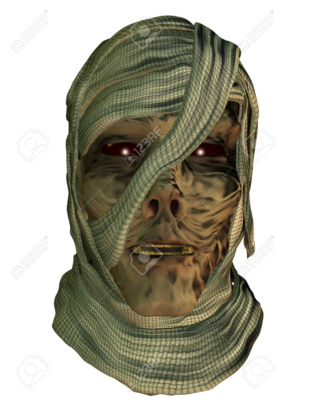 3d rendering of a mummy as illustration Stock Photo - 15716741