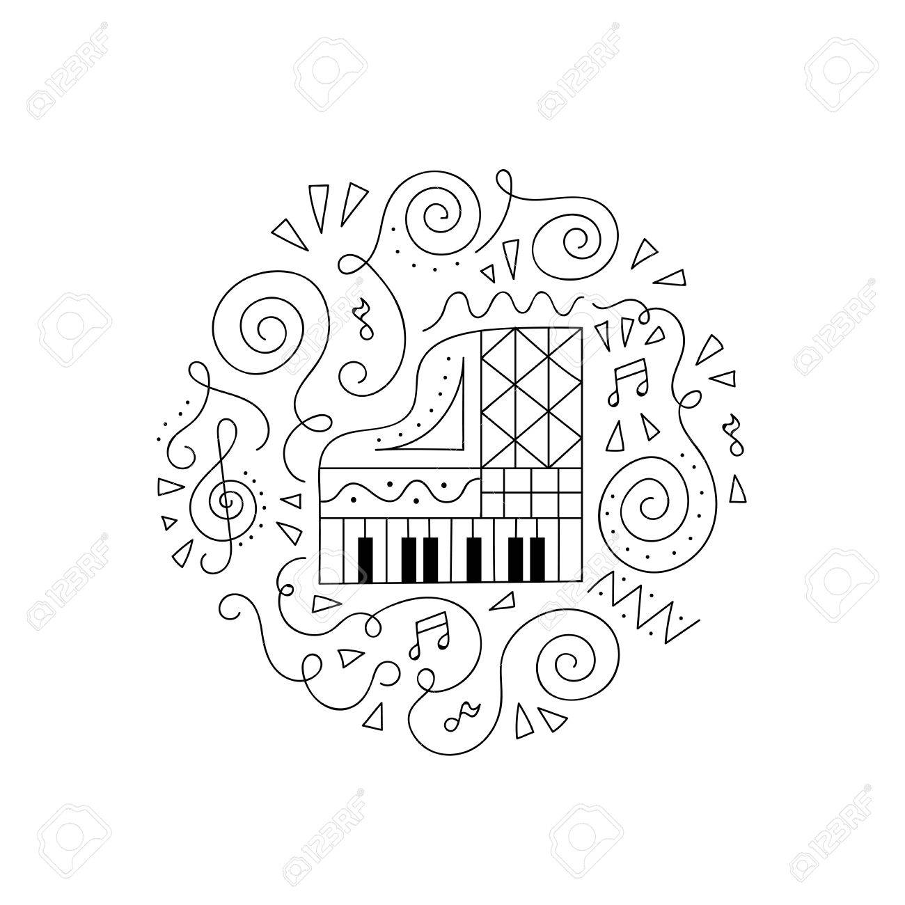 printable coloring pages piano coloring pages free printable