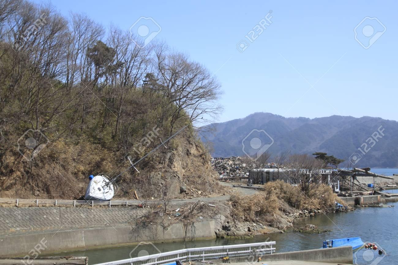 the Great East Japan Earthquak Stock Photo - 11389935
