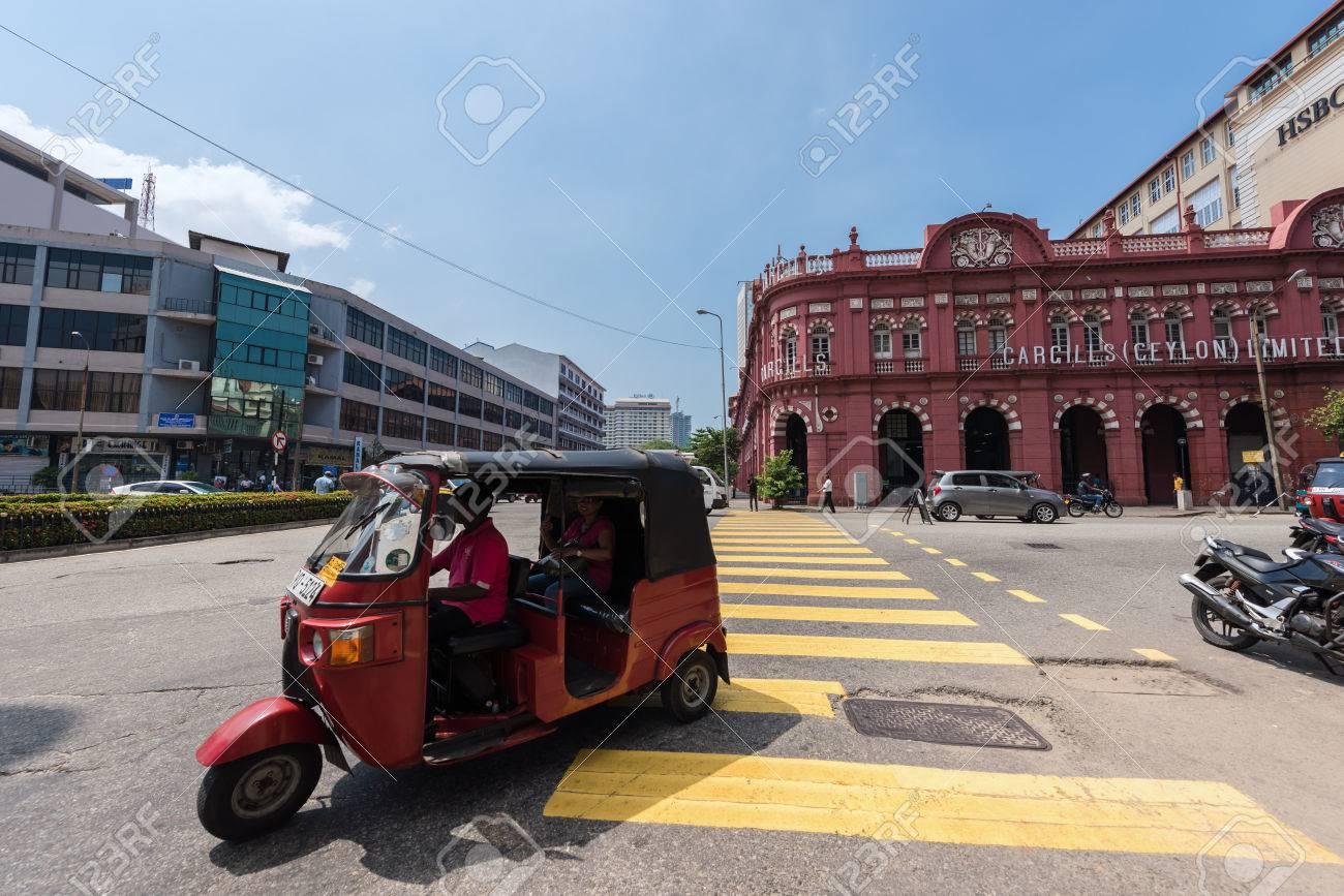 COLOMBO, SRI LANKA-MARCH 24, 2016: Building of Cargills Ceylon
