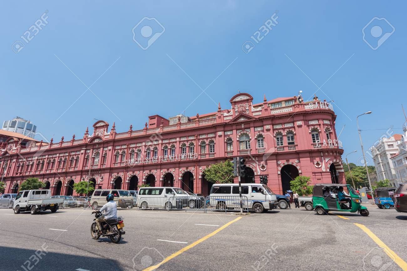 COLOMBO, SRI LANKA-MARCH 24, 2016: Building of Cargills Ceylon