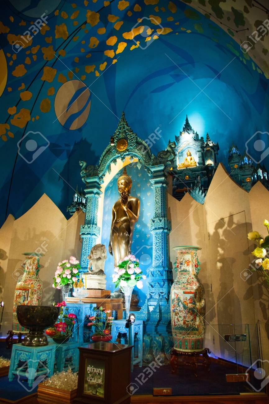 Golden Buddha of The Erawan Museum,Thailand III Stock Photo - 19166506