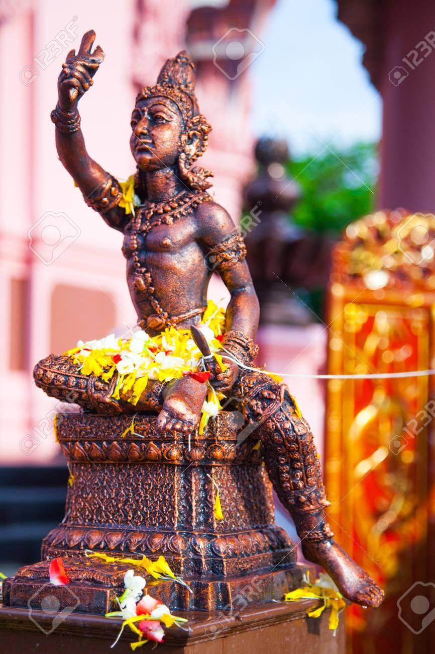 Angel Statue of The Erawan Museum,Thailand Stock Photo - 19145784