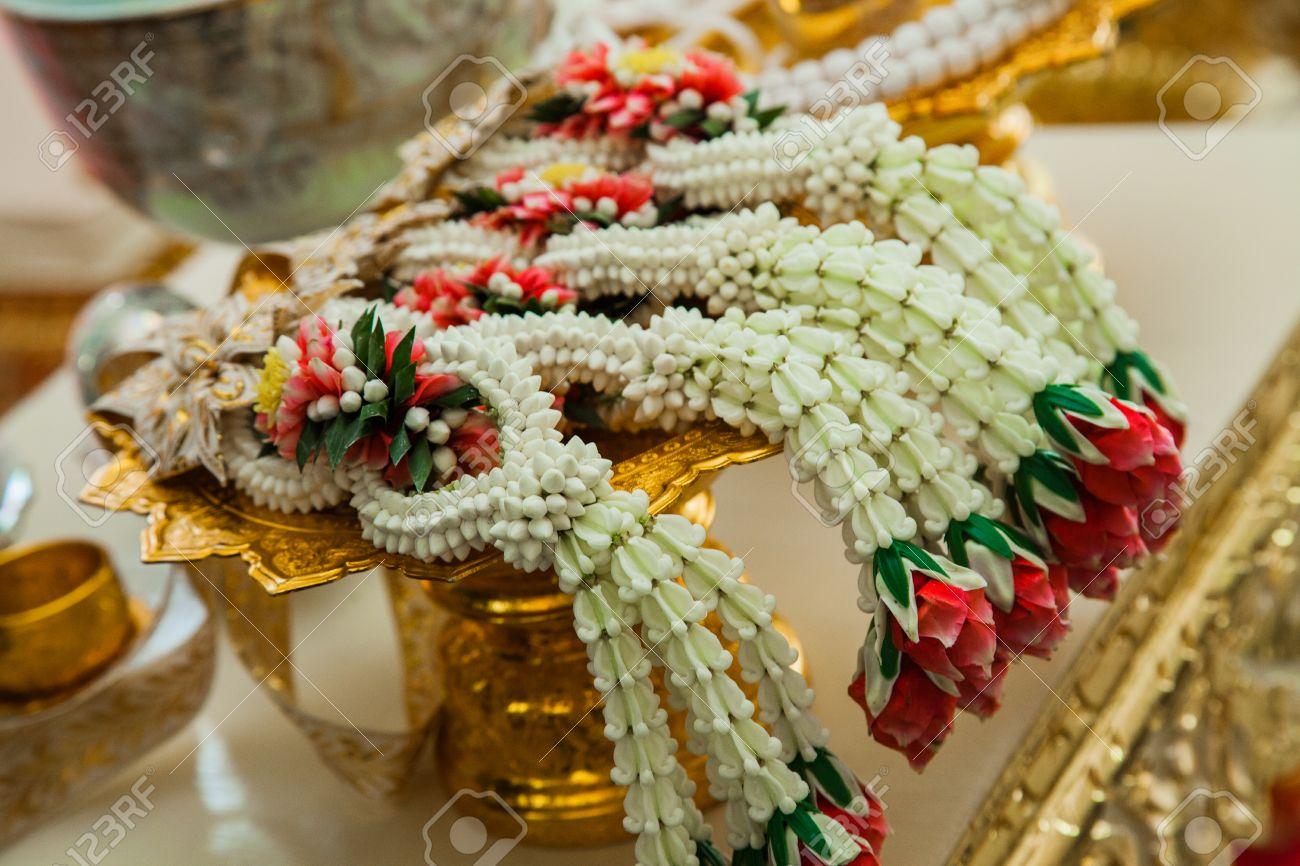 garland Wedding Thai style Stock Photo - 29164314