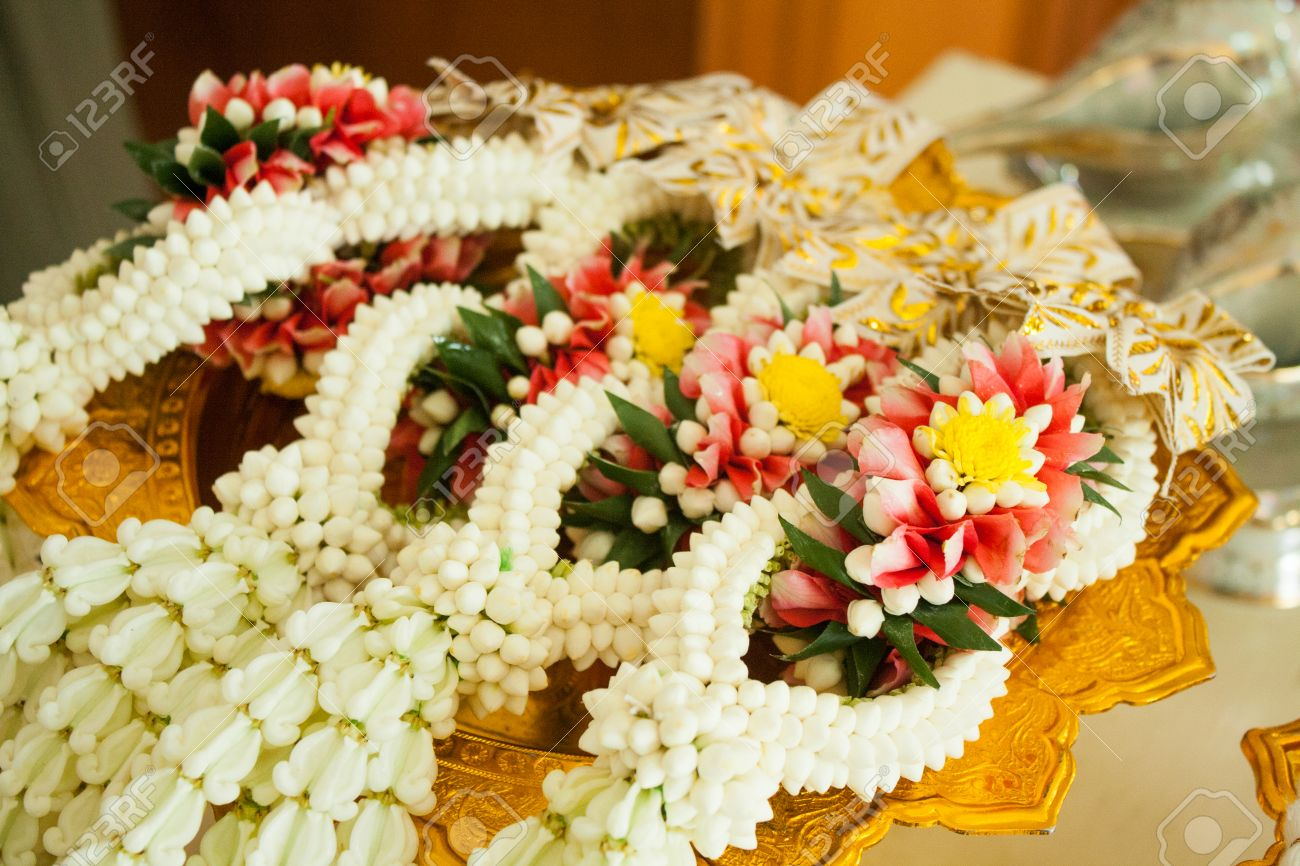 Malai Marriage Stock Photo Picture And Royalty Free Image Image
