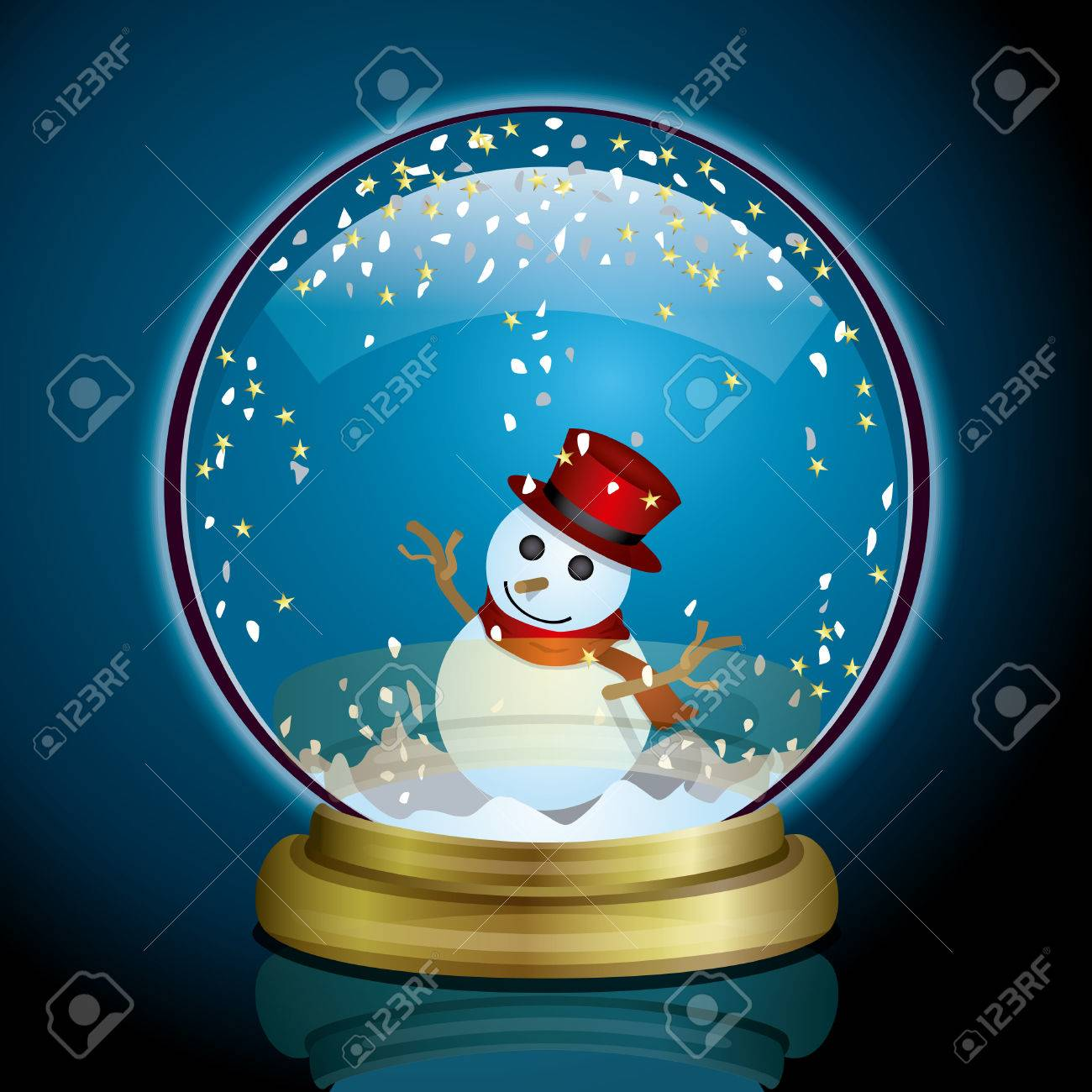 Snow Globe Stock Vector - 6699322