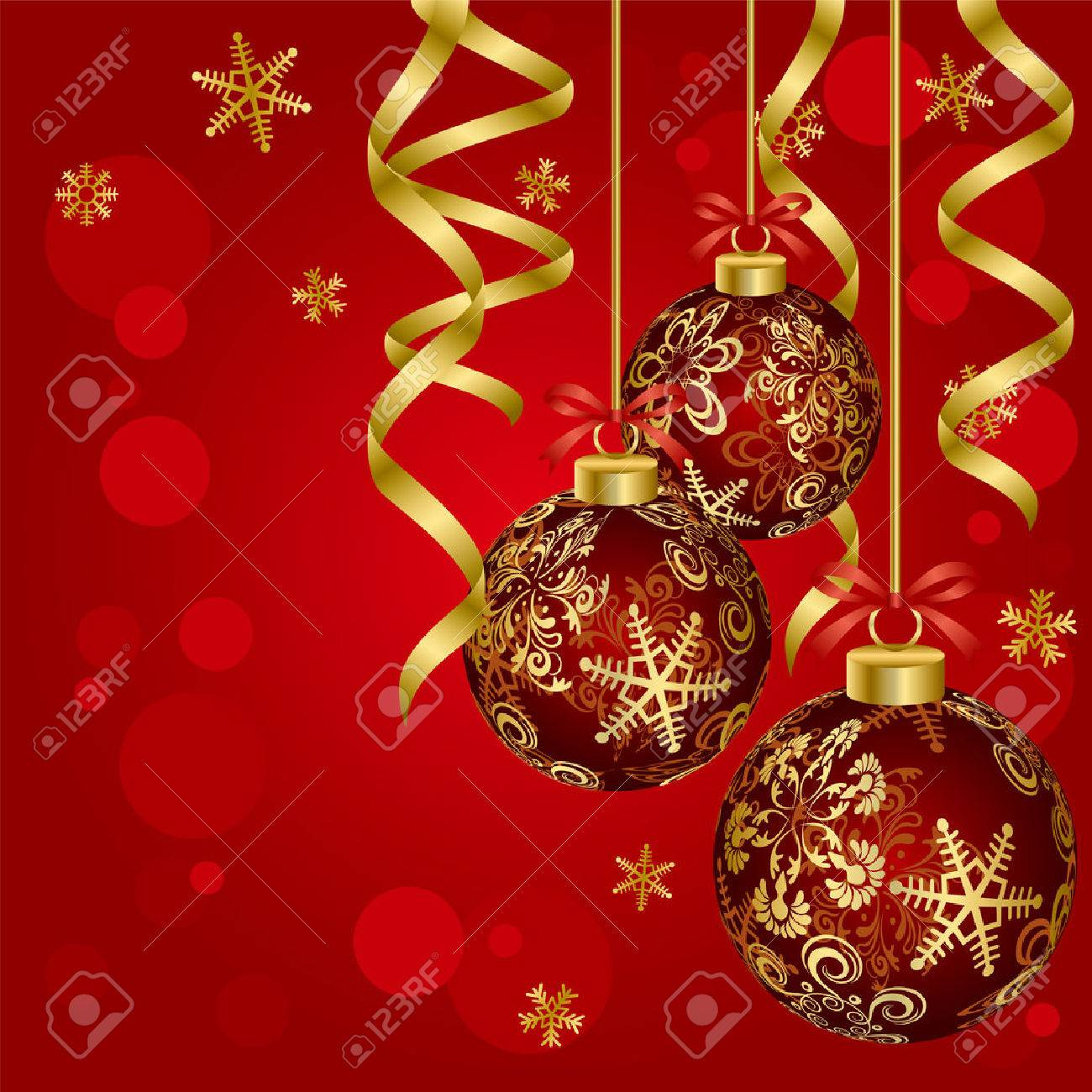 Luxury Christmas Ball. Illustration vector. Stock Vector - 8070352