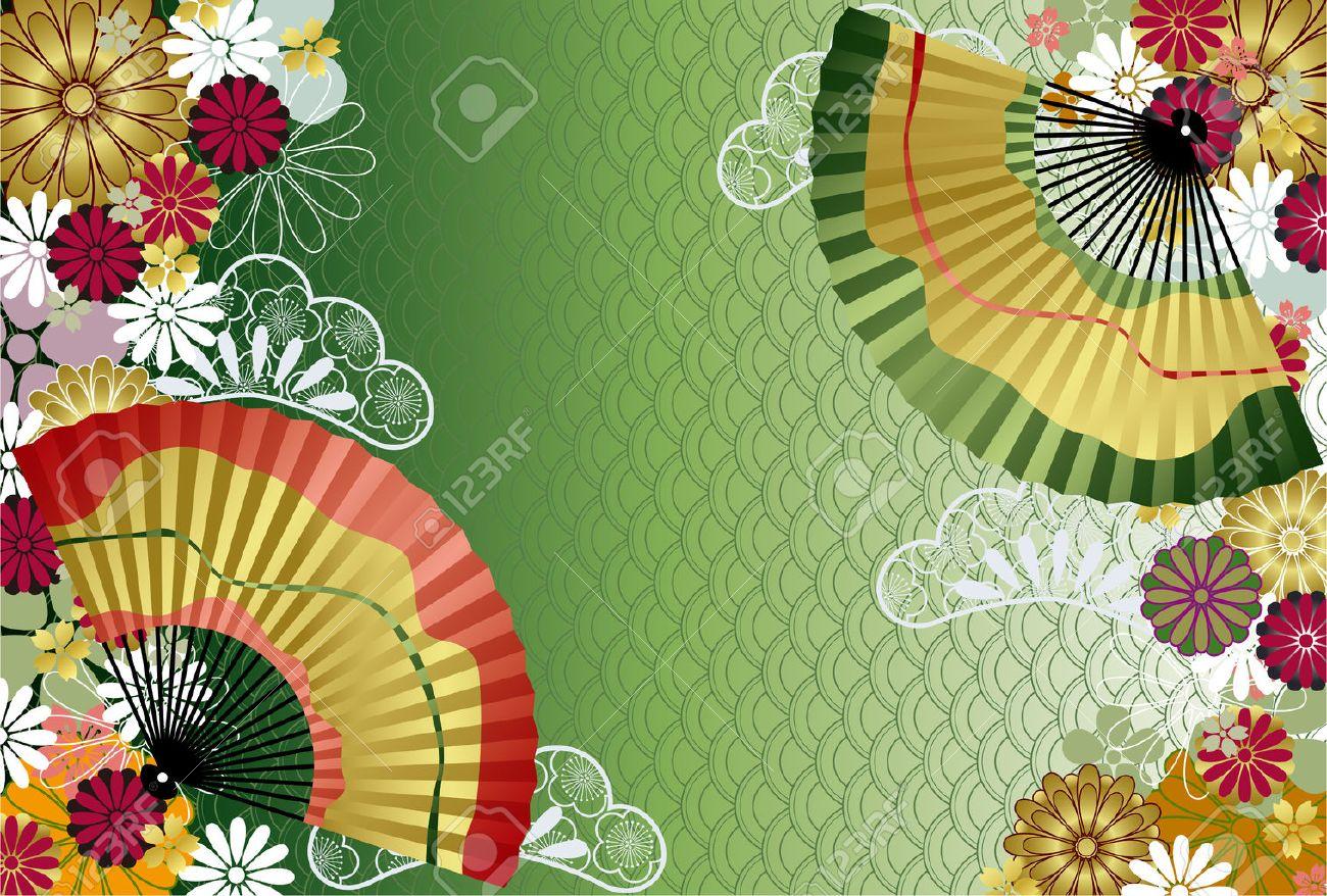 Japanese traditional pattern. Illustration Stock Vector - 8128887