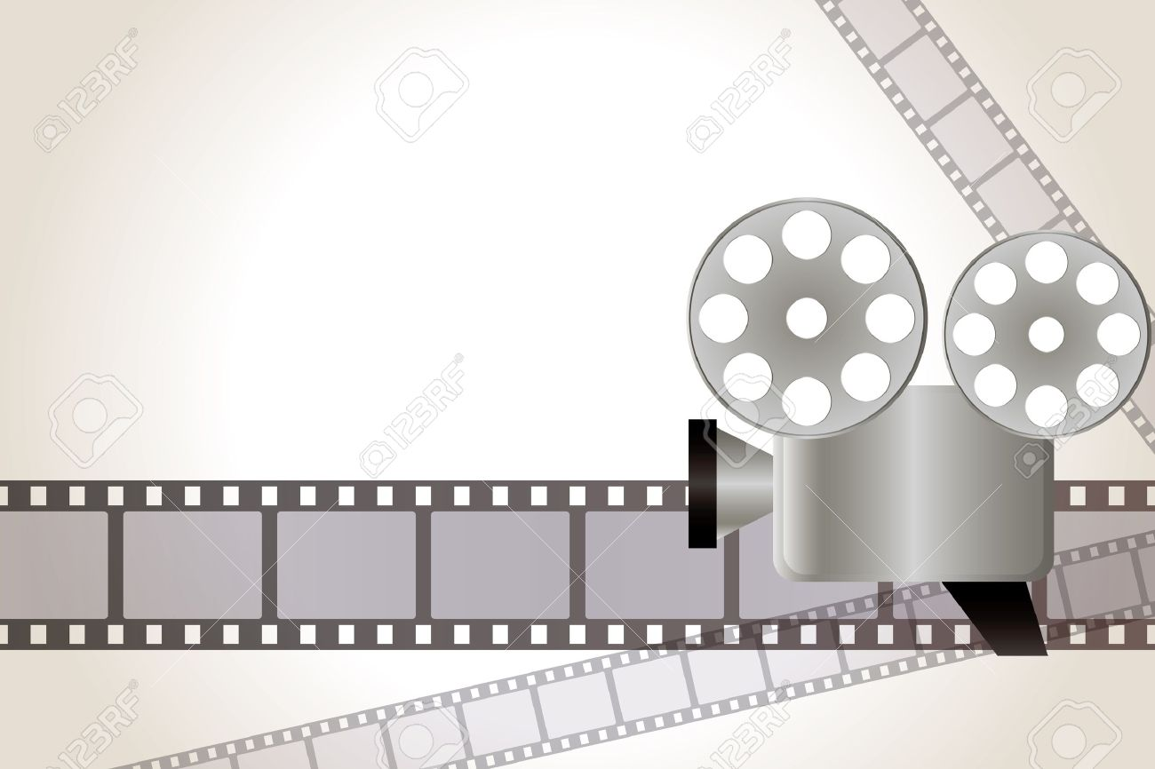 Film Background Illustration Royalty Free Cliparts Vectors And
