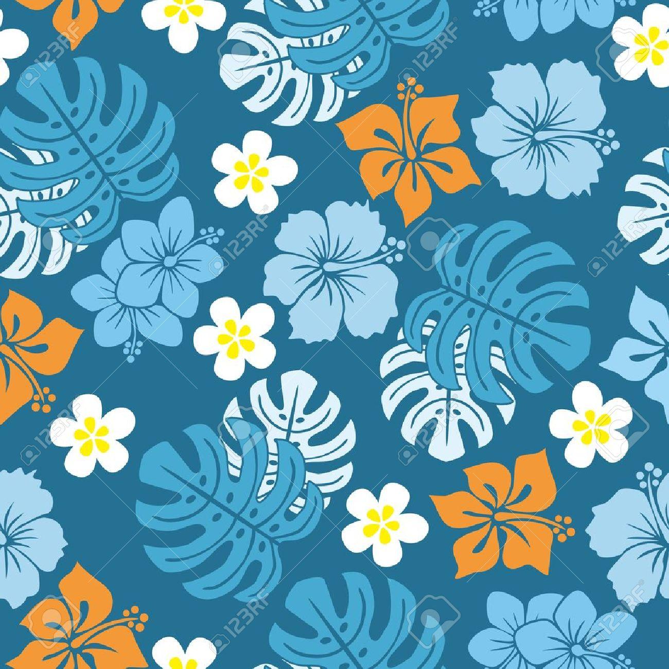 Keiki Hawaiian Humpty  Blue background with white