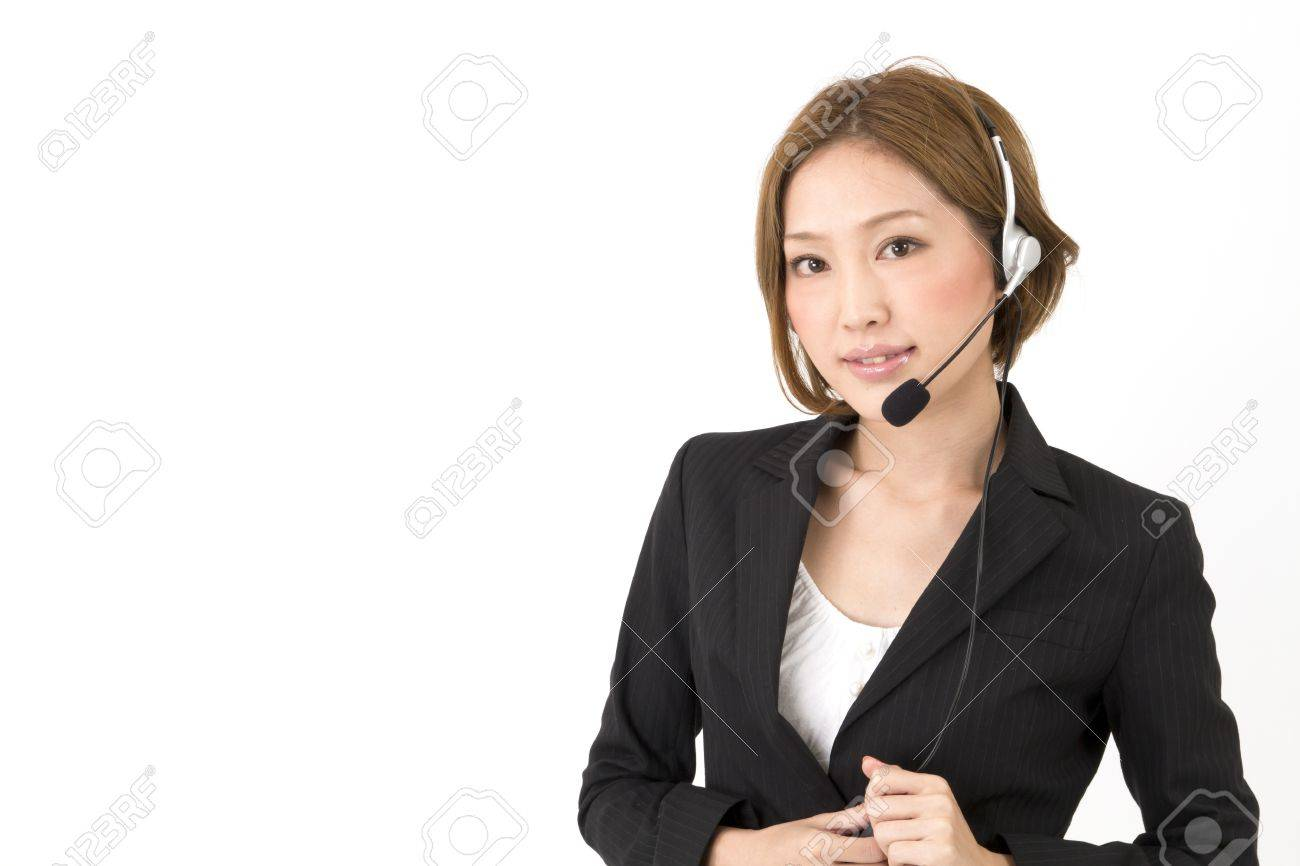 Beautiful asian business woman Stock Photo - 11373421