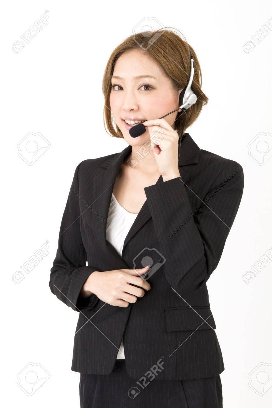Beautiful asian business woman Stock Photo - 11373436