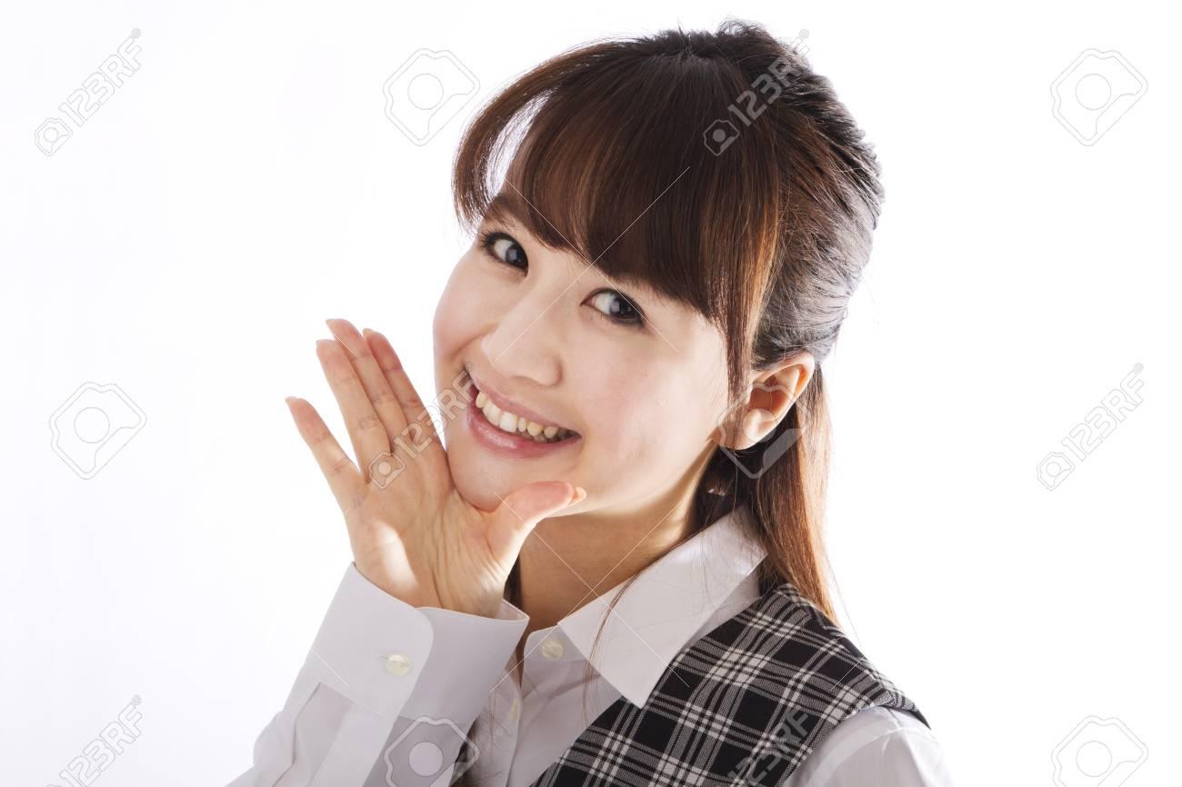 Beautiful business woman Stock Photo - 12040028