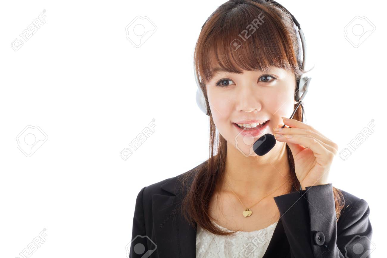 Beautiful asian business woman Stock Photo - 12296776
