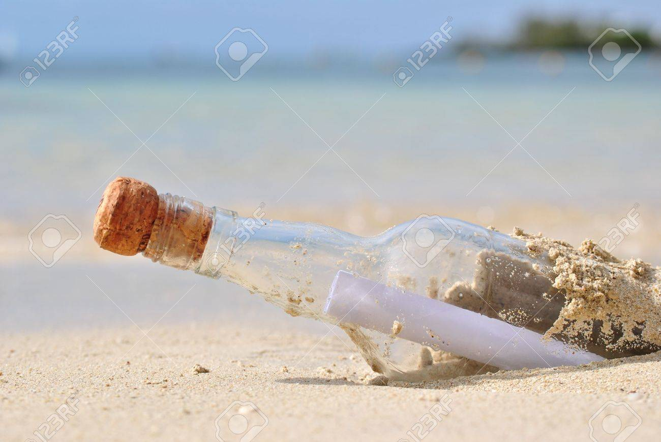 Message in a bottle Stock Photo - 8141648