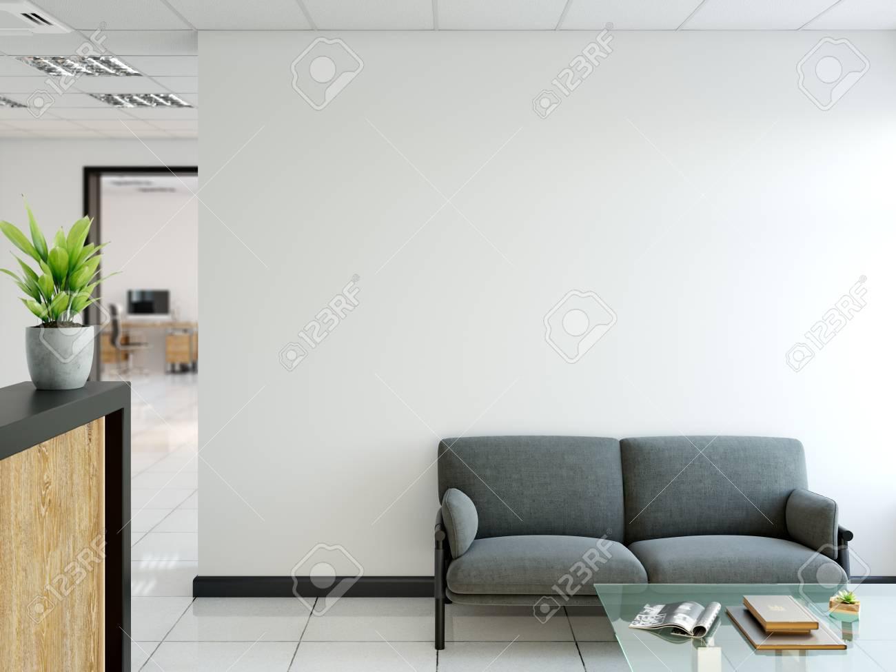 Office wall art Typography Illustration Office Wall Mock Up Interior Wall Art 3d Rendering 3d Illustration 123rfcom Office Wall Mock Up Interior Wall Art 3d Rendering 3d