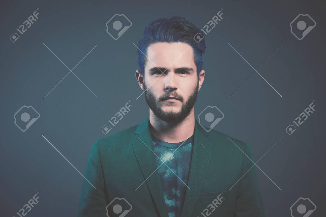 Braune haare farben mann