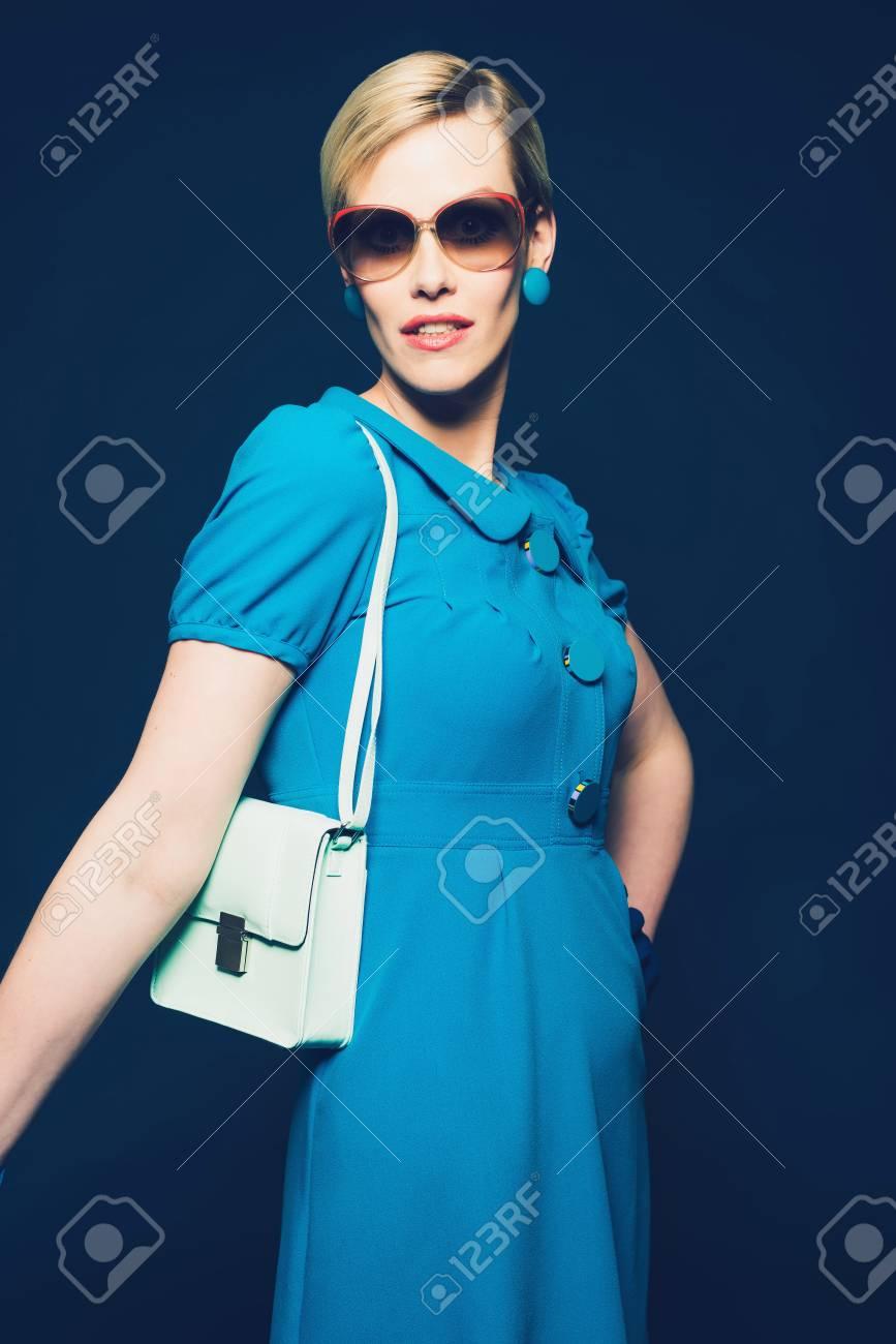 ELLE Lunettes De Soleil Femmes Bleu
